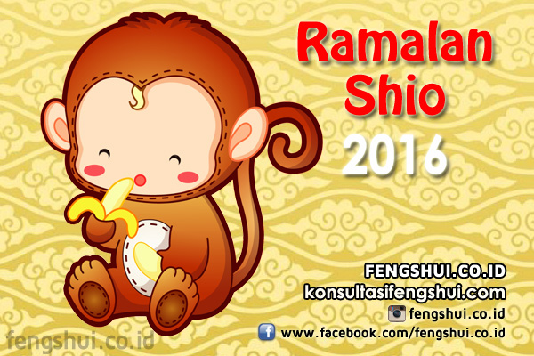 Ramalan Shio 2016 Monyet Api