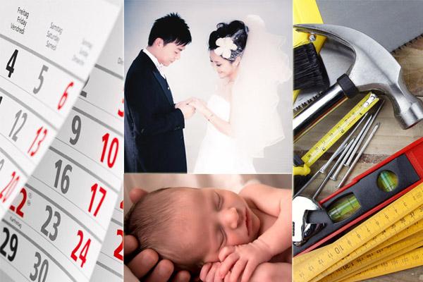 Hari Baik Menikah Melahirkan Renovasi