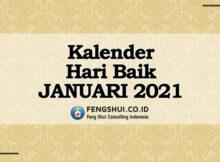 hari baik bulan januari 2021